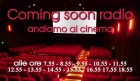 Coming soon radio (andiamo al cinema) informazione cinematografica